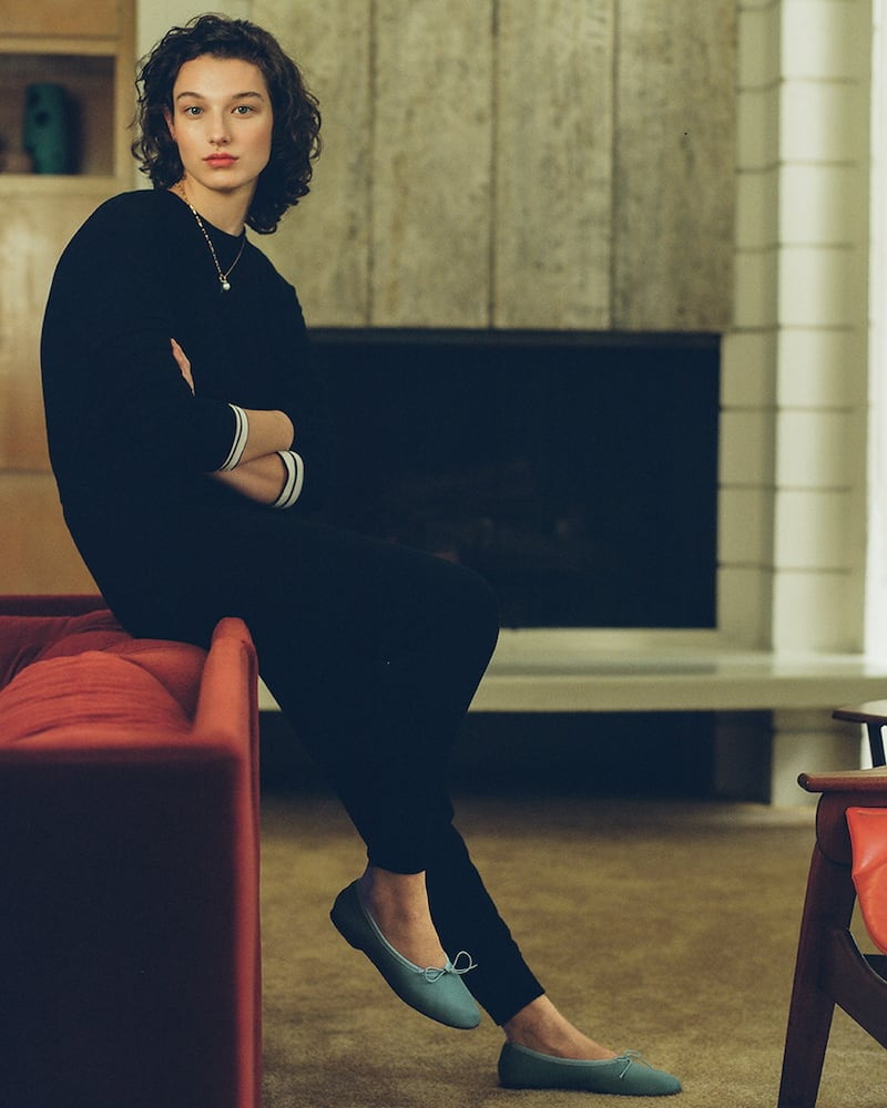 alice + olivia Nikita Knit Jumpsuit with Drawstring Waist