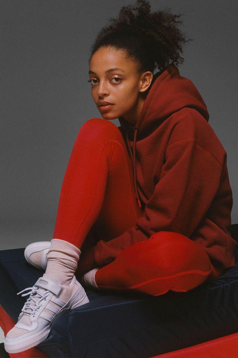 Eebok x Victoria Beckham Jacquard-Knit Leggings