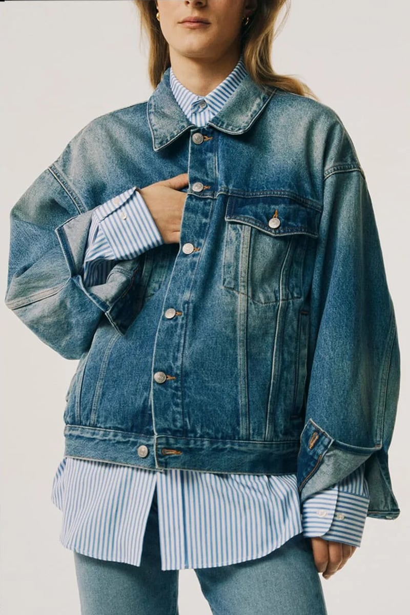 MM6 Maison Margiela Denim Jacket