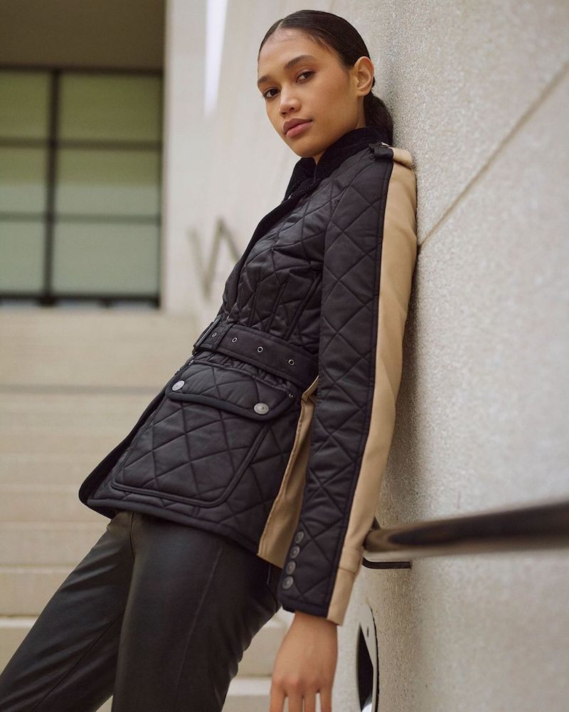 Mytheresa x Burberry Lode Quilted Jacket