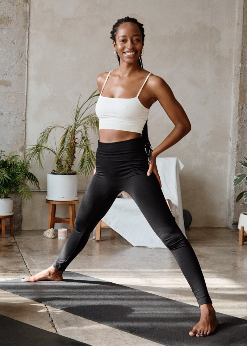 & Other Stories Quick-Dry Seamless Yoga Bra