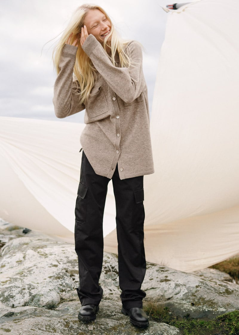 & Other Stories Relaxed Cargo Trousers