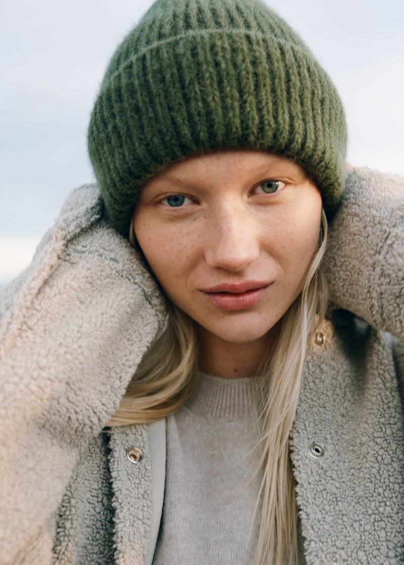 & Other Stories Ribbed Knit Beanie Hat