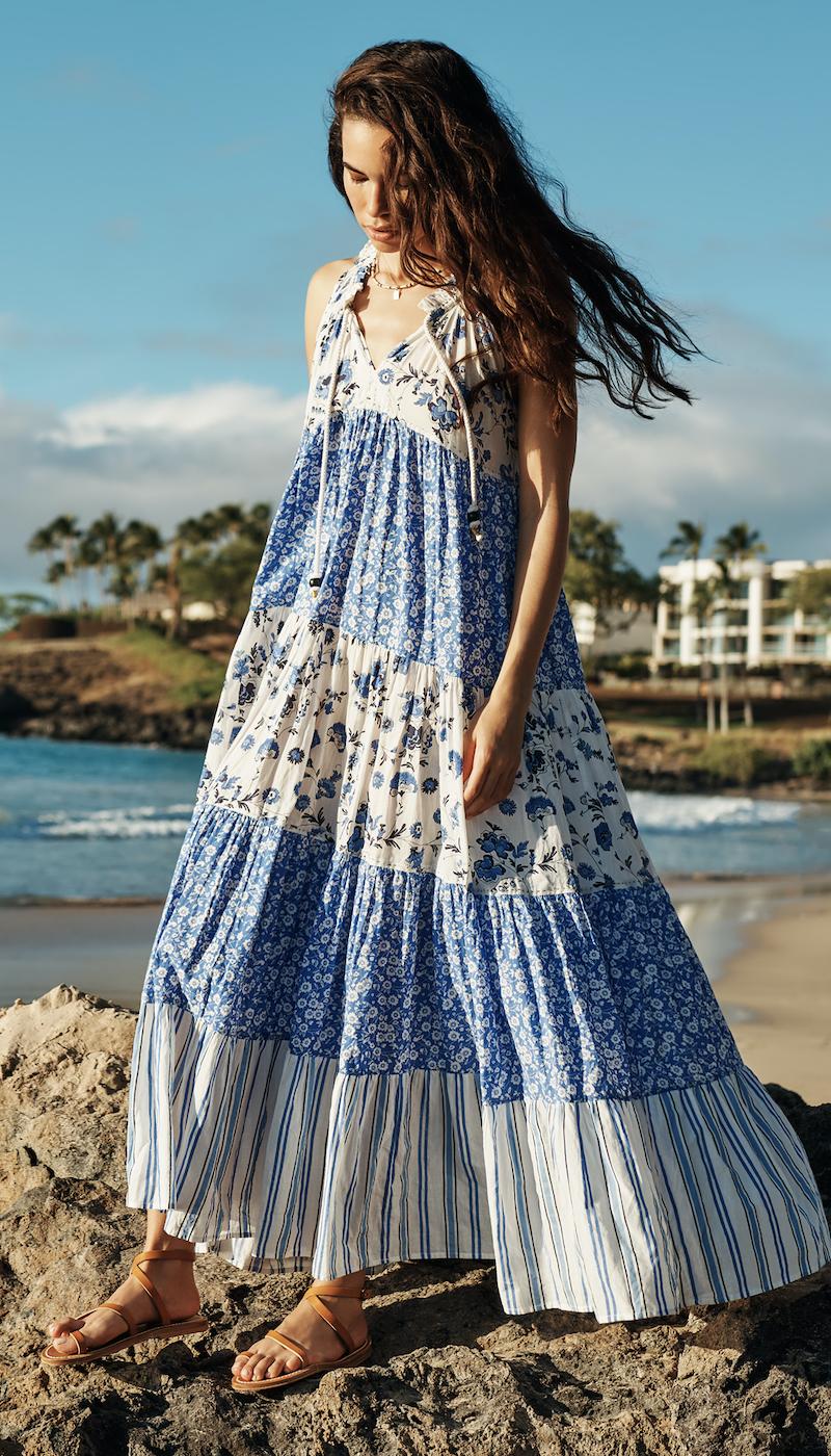 Ro's Garden Sofia Long Dress