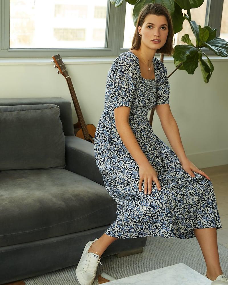 THE GREAT. The Savanna Dress