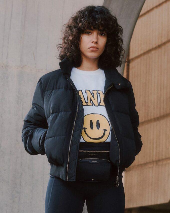 The Upside Nareli High-Neck Padded Jacket