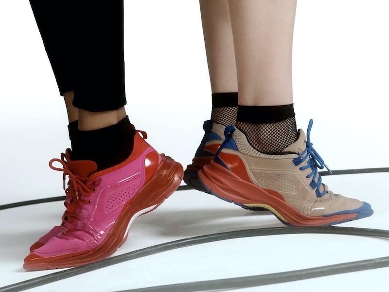 AZ Factory Neoprene and Mesh Sneakers