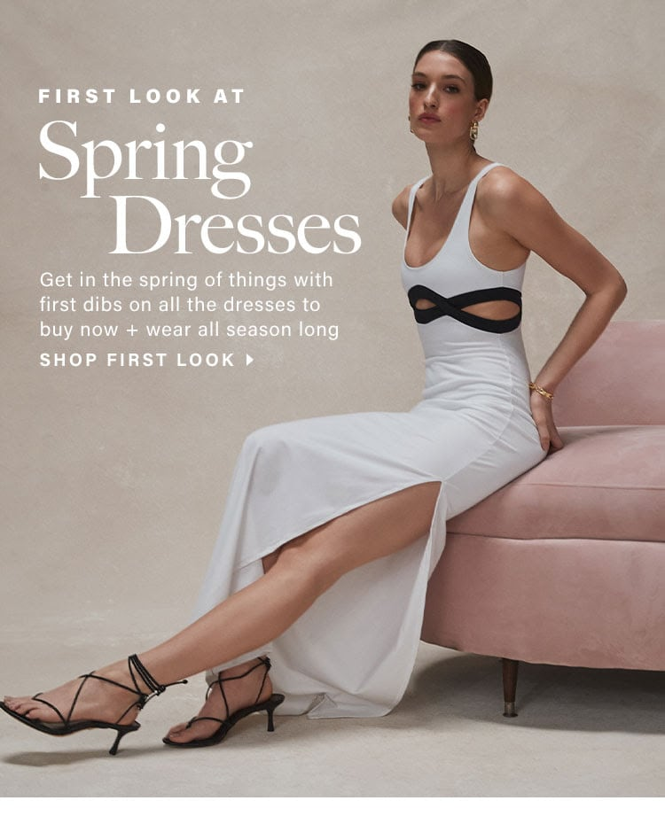 Your First Look at All the Spring Dresses