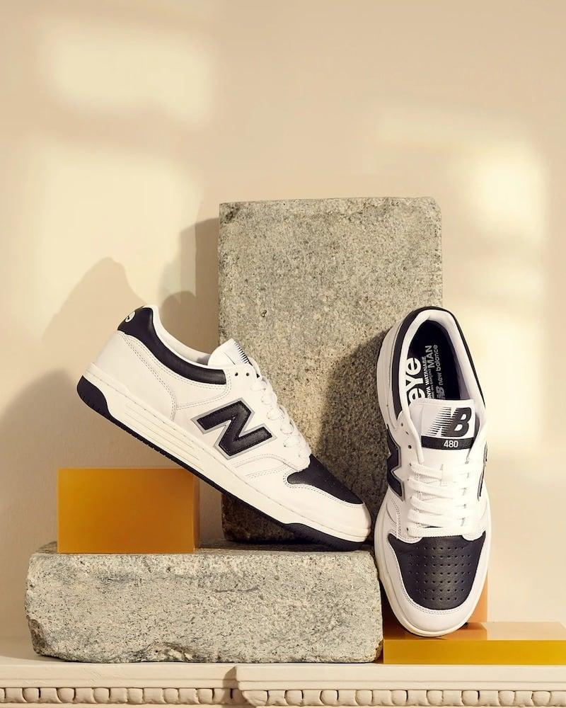 Junya Watanabe x New Balance Edition eYe 480 Sneakers