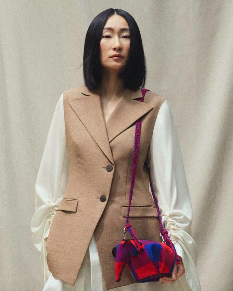 LOEWE Wool-Blend Jacket