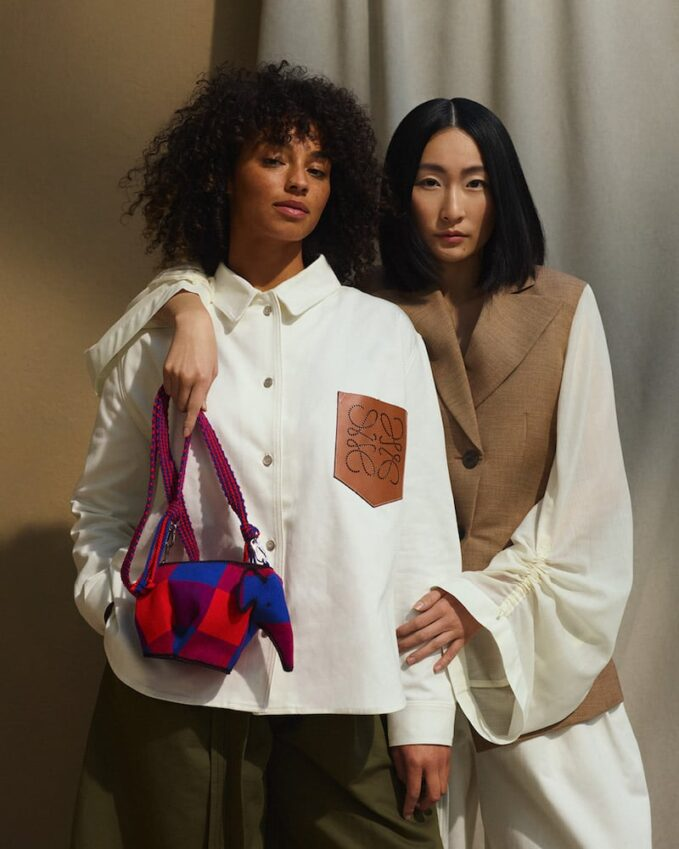 MYTHERESA Exclusive // LOEWE x Knot on My Planet Elephant Mini Bag