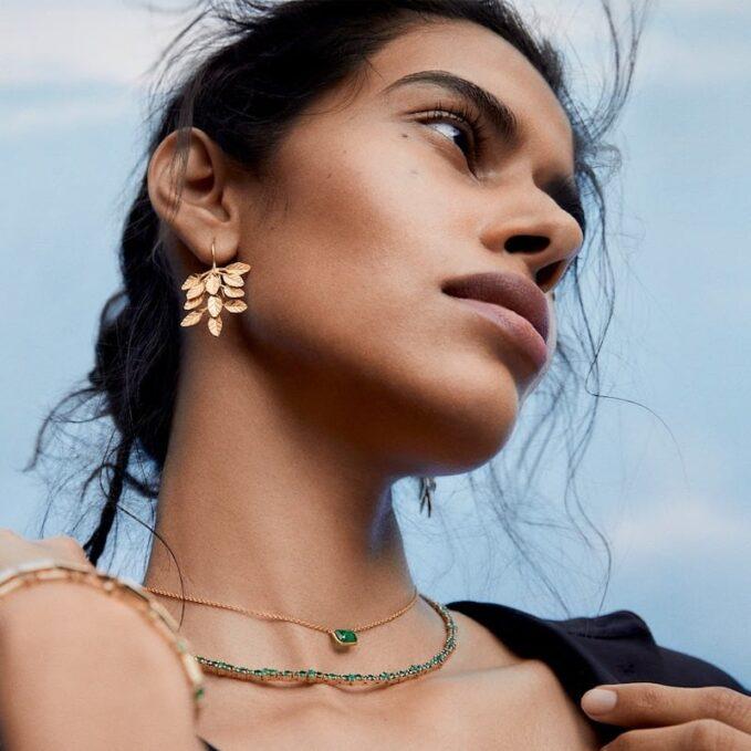 Pippa Small 22-Karat Gold Earrings