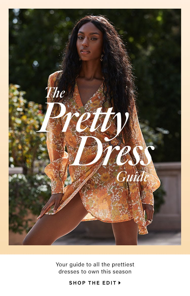 The Pretty Dress Guide // Dresses You'll Fall in Love With for Spring & Beyond