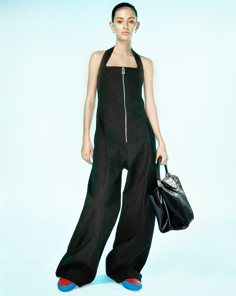 Bottega Veneta Linen-Blend Wide-Leg Jumpsuit