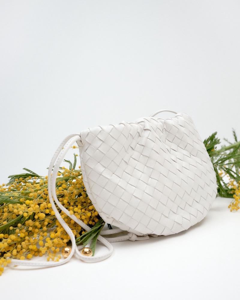 Bottega Veneta Mini Bulb Leather Shoulder Bag