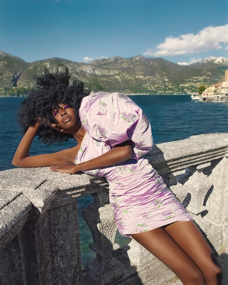 Giuseppe Di Morabito One Shoulder Jacquard Mini Dress