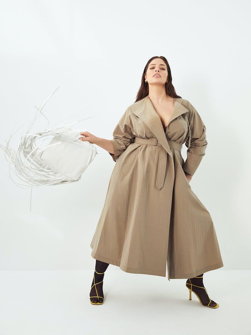 Isabel Marant Ilifawn Crinkled-shell Trench Coat