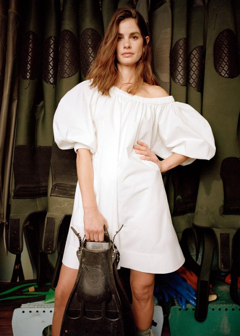 & Other Stories Voluminous A-Line Mini Dress