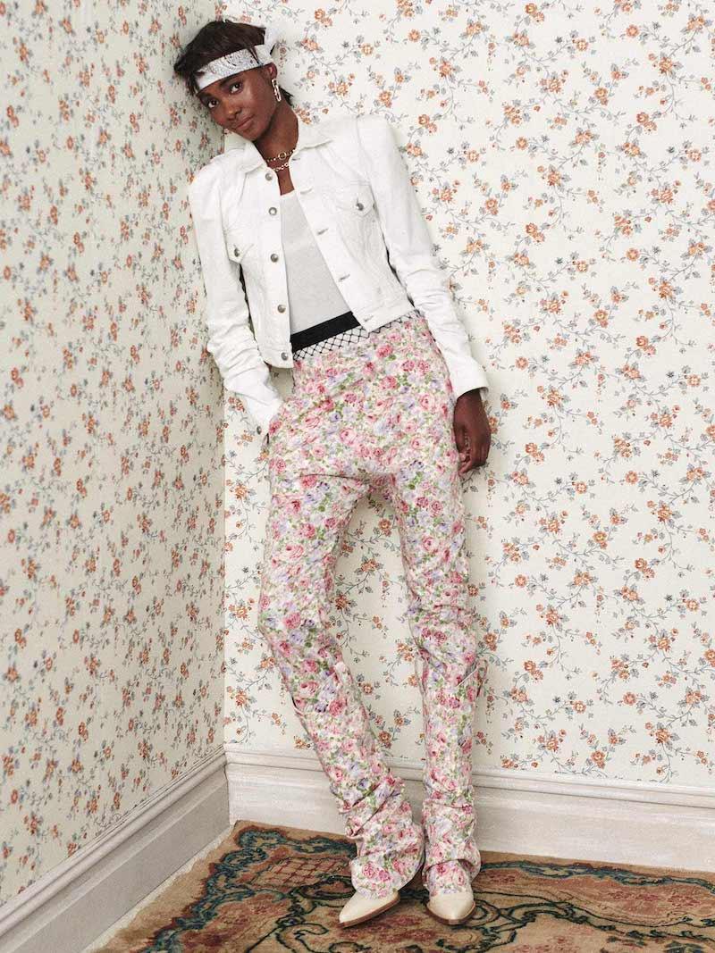 R13 Kelsey Shirring Jacket
