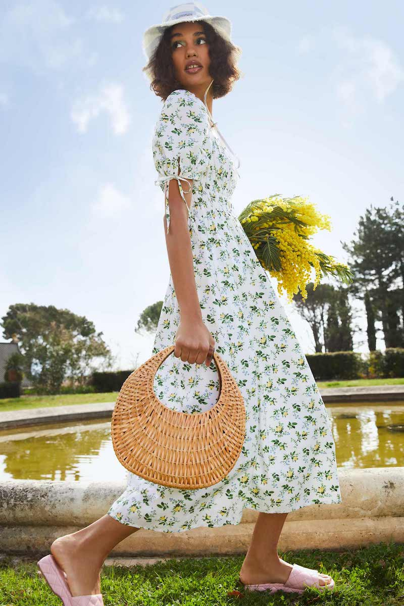 Spring-Ify Your Wardrobe with Fresh-Picked Florals for Spring 2021