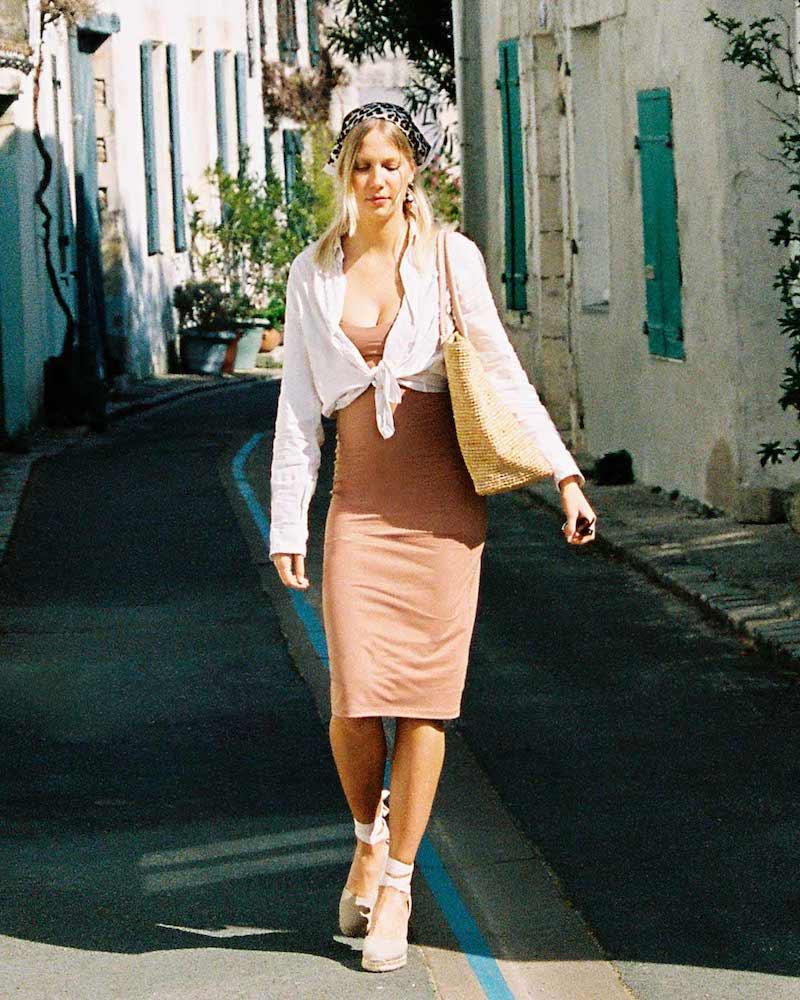 Susana Monaco Summer Tank Midi Dress