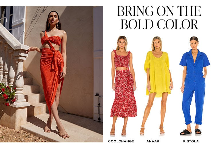 Bring on the Bold Color. Shop bold colors.