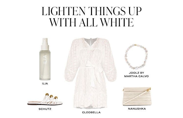Lighten Things Up With All White. Shop white.
