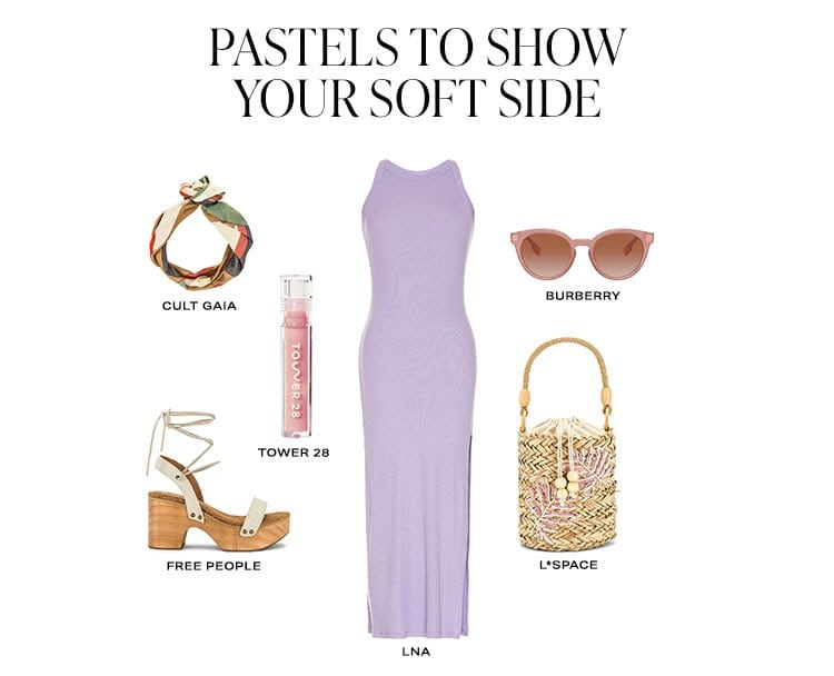 Paste;s to Show Your Soft Side. Shop pastels.