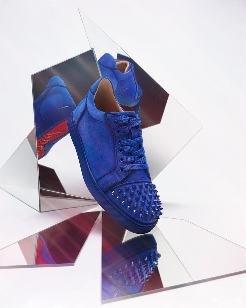 Mytheresa x Christian Louboutin Vieira Spikes Sneakers