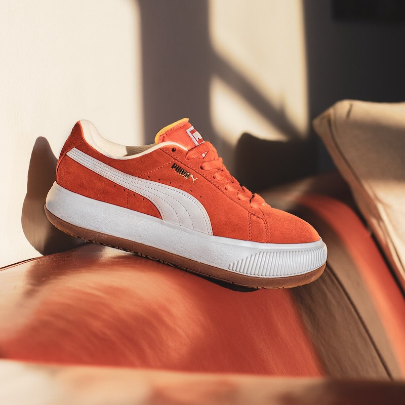 Puma Suede Mayu Sneakers in Grenadine