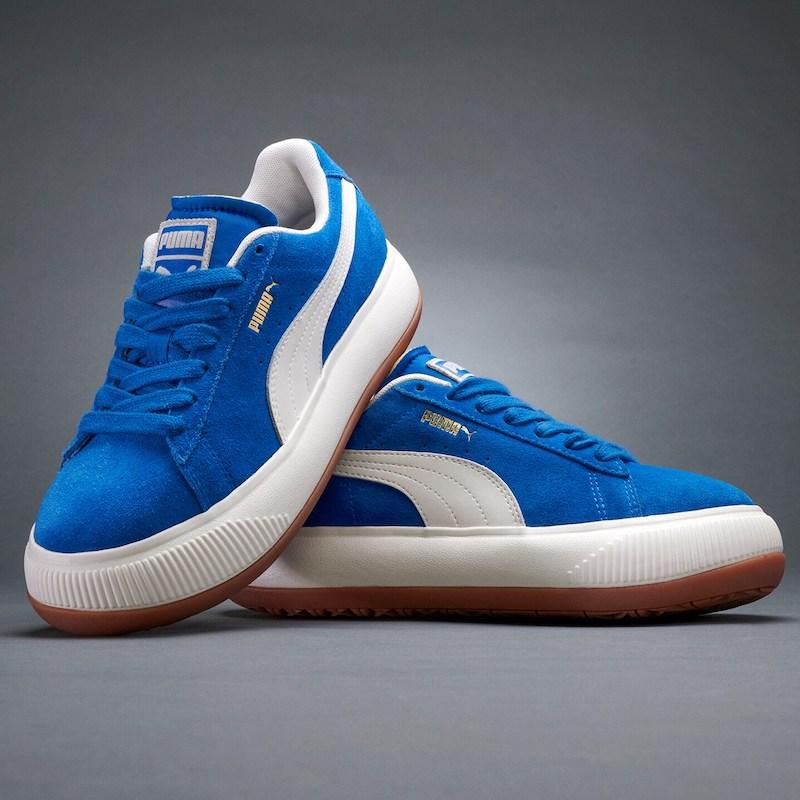 Puma Suede Mayu Sneakers in Lapis Blue