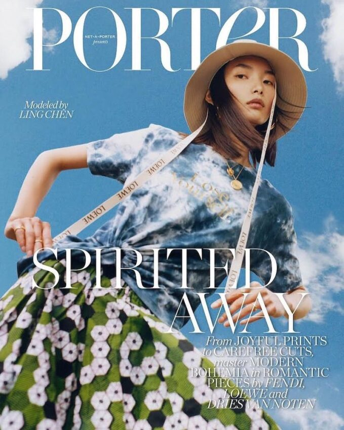 Spirited Away: Ling Chen for The EDIT