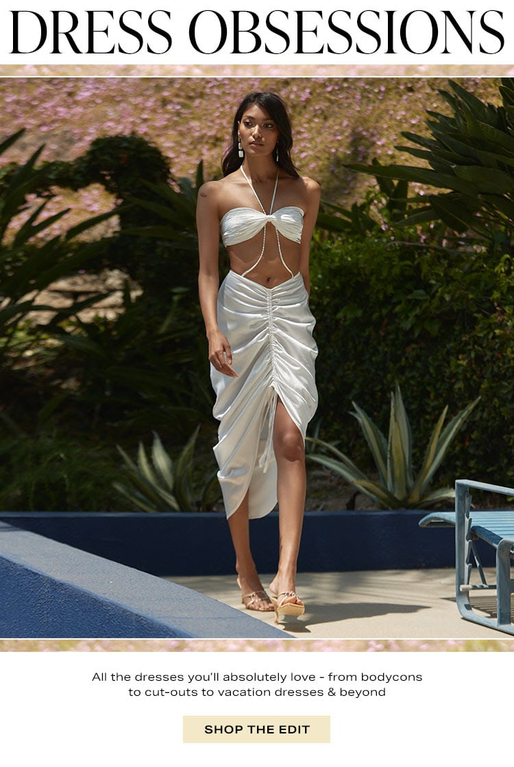 Top 5 Dress Obsessions You Can't Live Without for Summer 2021