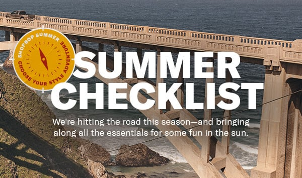 The summer checklist is here