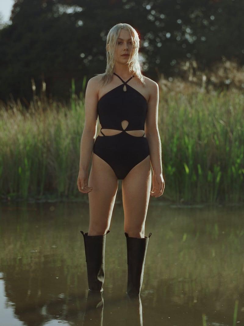 Christopher Esber Cutout Halterneck Swimsuit