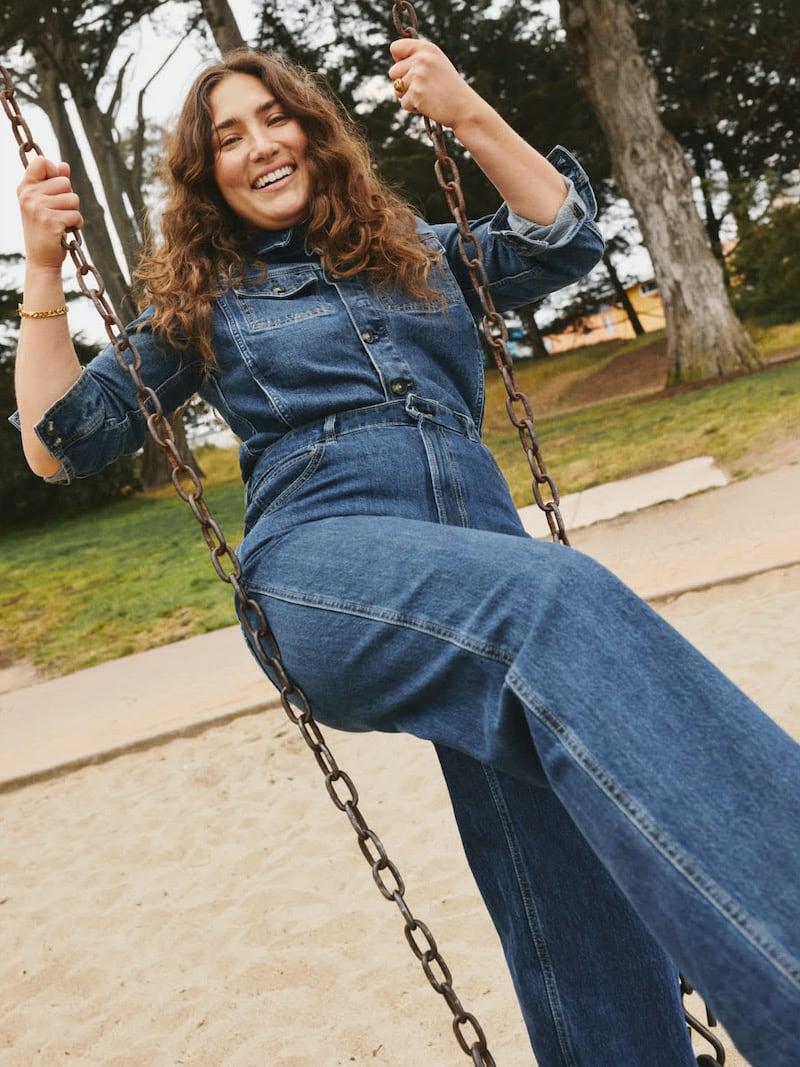 Everlane Way-High Baggy Jean