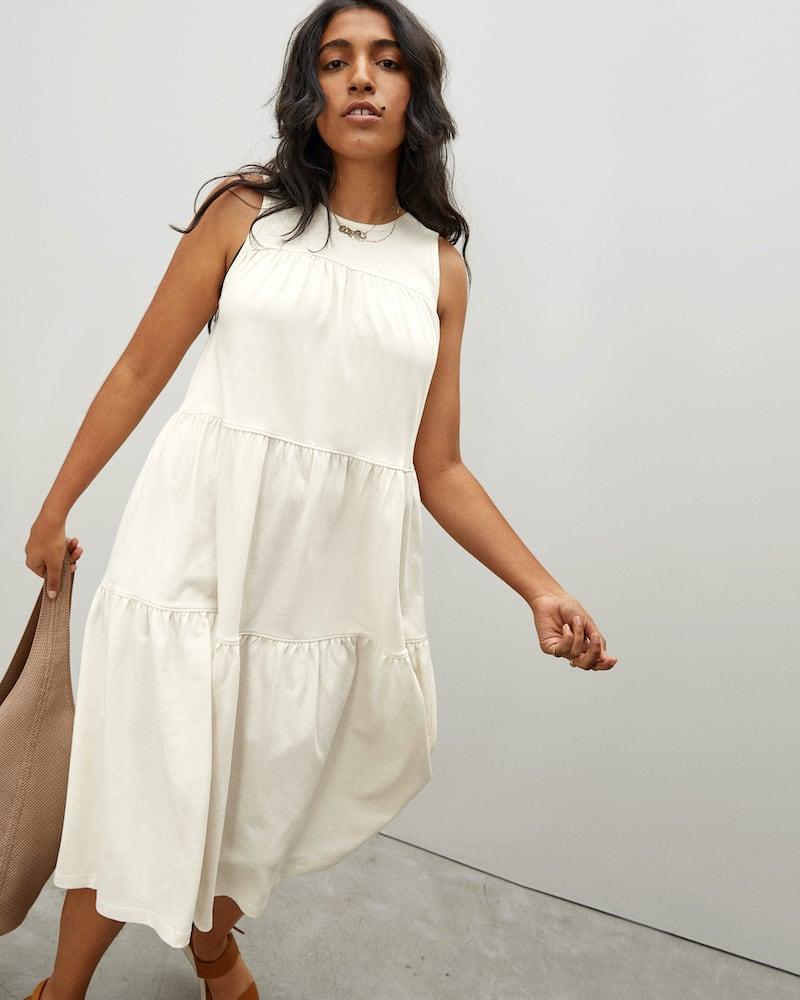 Everlane Weekend Tiered Dress