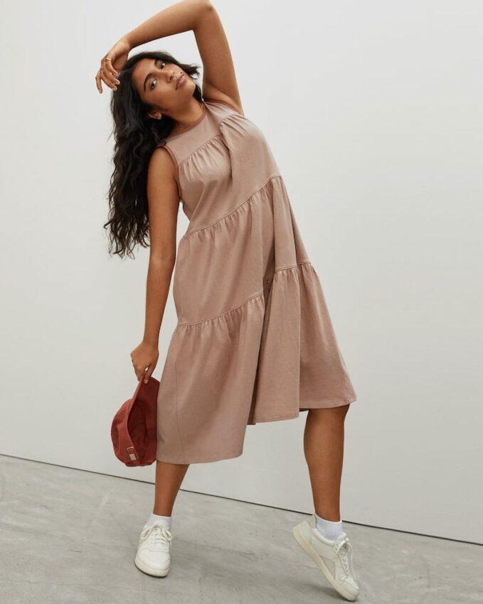 Everlane  Weekend Tiered Dress 2