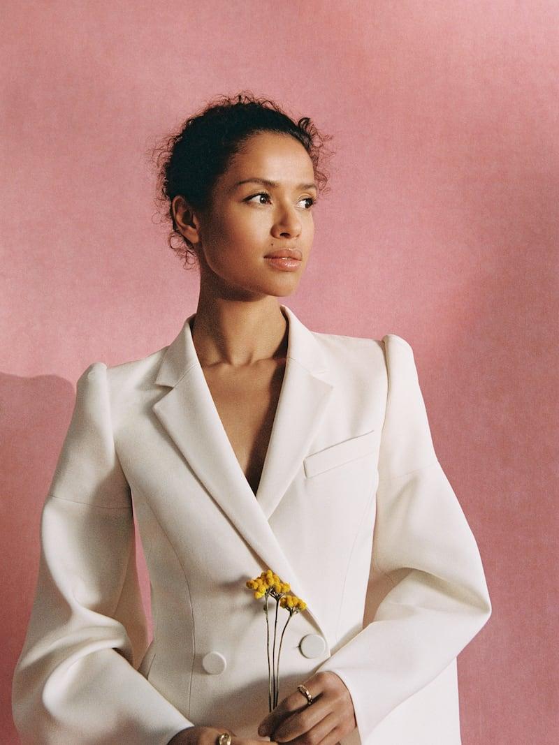 Fendi Double-breasted Wool-blend Cady Midi Dress