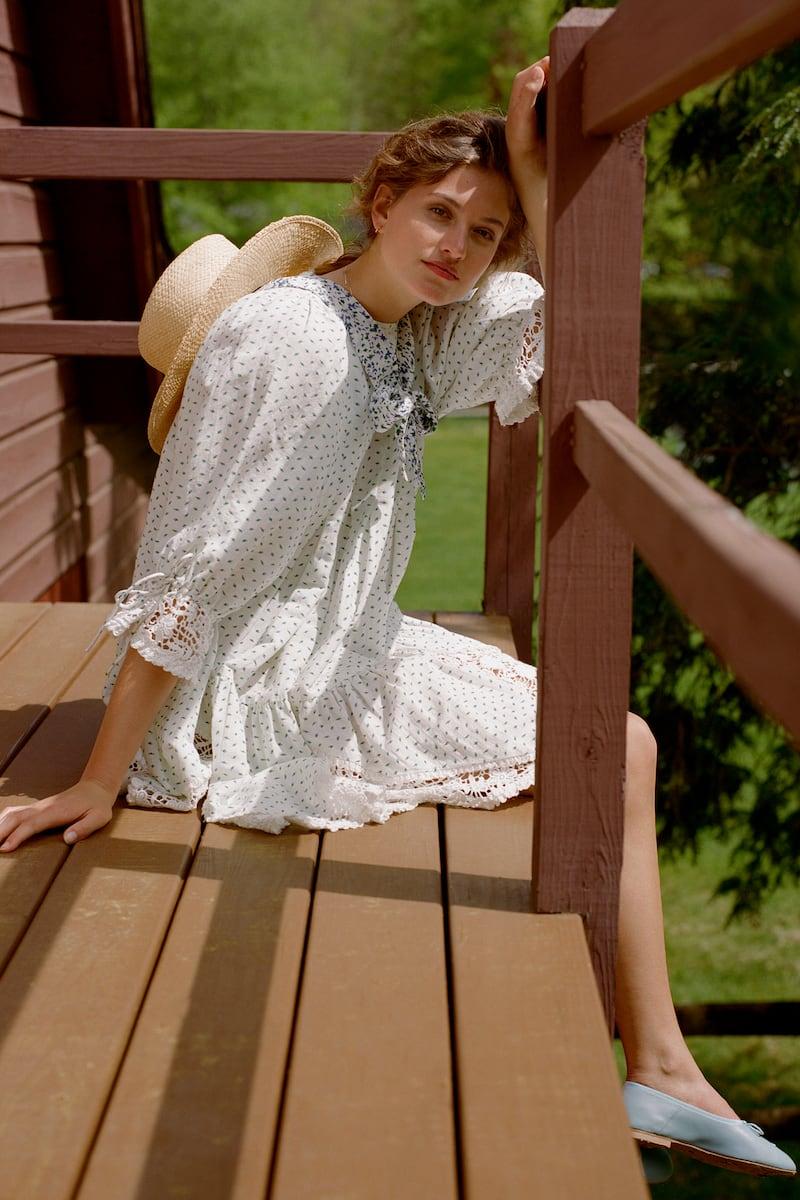 byTiMo Linen Mini Dress