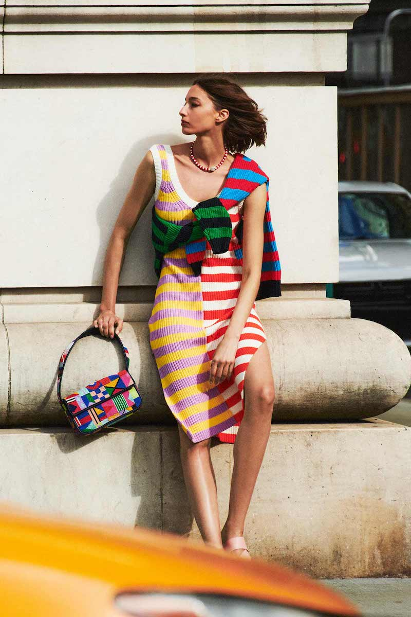 STAUD Seashore Dress
