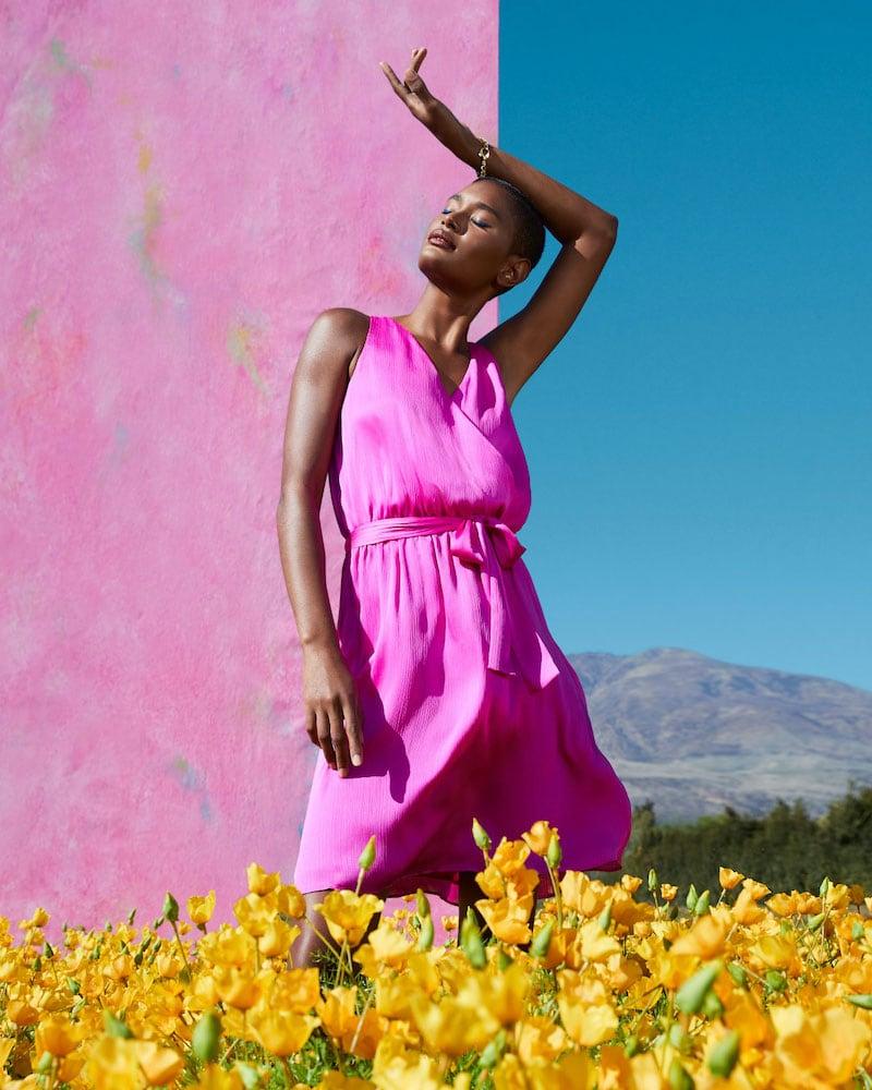 Trina Turk Planetary Sleeveless Dress