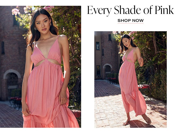 Every Shade of Pink - Shop Now